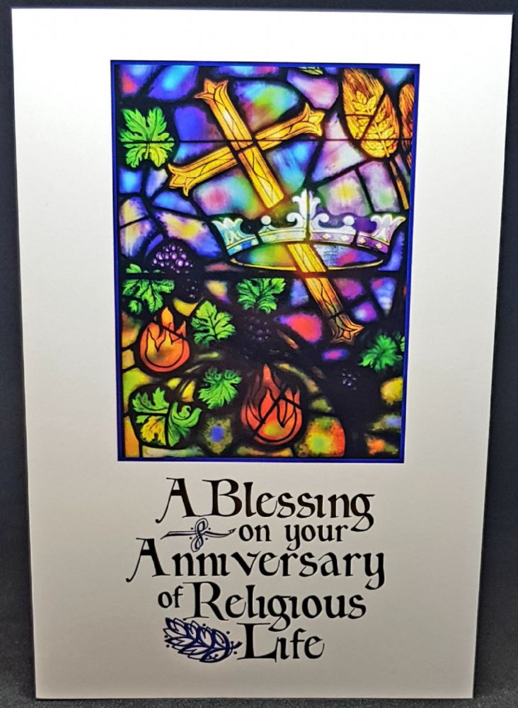 A Blessing on your Anniversary of Religious Life